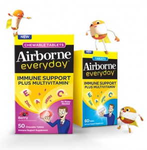 Free Sample Of Airborne Everyday Immune Support Plus Multivitamin