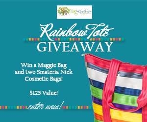 Whole Mom Rainbow Tote Giveaway