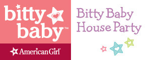 American Girl Bitty Baby House Party