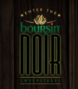 The Boursin Noir Sweepstakes