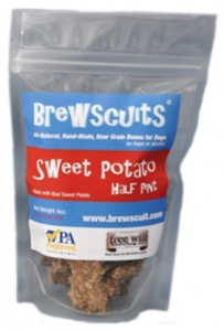 Free Sample of Brewscuits Dog Biscuits