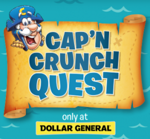 The Cap'n Crunch Quest Sweepstakes