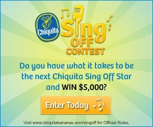 Chiquita Banana Sing Off Contest