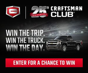 Craftsman 25th Anniversary Sweepstakes