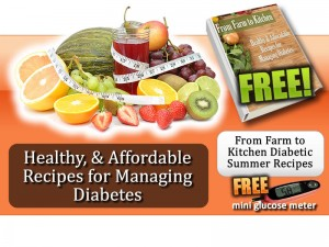 Free From Farm To Kitchen Recipe Book And Mini Glucose Meter