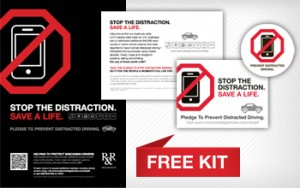 Free Help Prevent Distracted Driving - School Campaign Kit