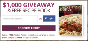 Divine Eats $1,000 Giveaway + Free Recipe Book