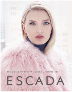 "Free Copy Of ""The World Of Escada"" Magazine"