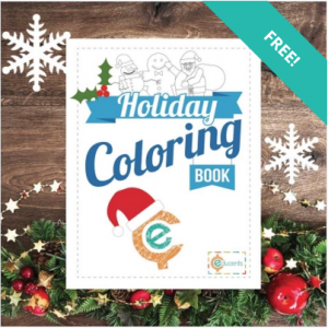 Free Printabe Holiday Coloring Book From Educents