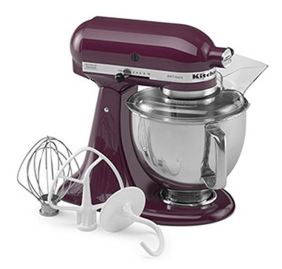 Enter To Win A KitchenAid Artisan Mixer