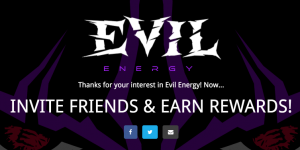 Free Evil Energy Drink For Referring Friends