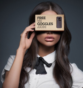 Free Pair Of Virtual Reality Goggles