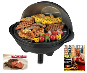 Enter To Win A George Foreman Indoor/Outdoor Grill Package