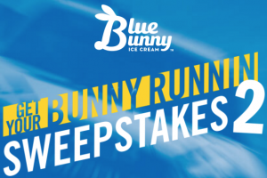 Blue Bunny Get Your Bunny Runnin' 2 sweepstakes