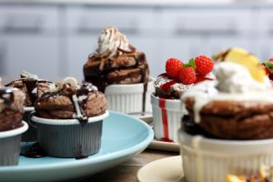 Gourmet Soufflé Desserts Party