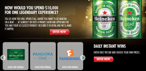 Heineken Cities Of The World Promotion