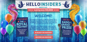 HelloInsiders Q3/Q4 2015 Grand Prize Drawing