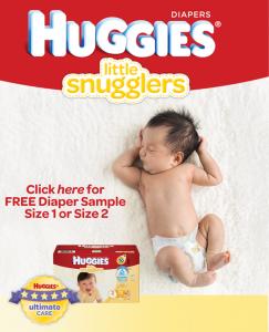 Free Sample Of Huggies Little Snugglers