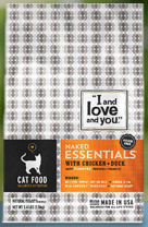 """Free Sample Of """"I And Love And You"""" Dog Or Cat Food"""