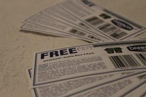 Enter to win TEN (10) coupons for Activia Yogurt