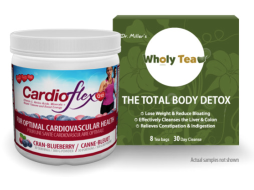 Free Sample Of CardioFlex Q10 or Wholy Tea