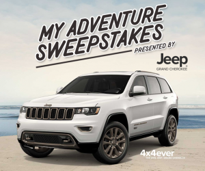 My Adventure Sweepstakes Presented by Jeep