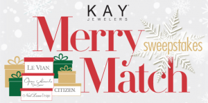 The Kay Jewelers Merry Match Sweepstakes