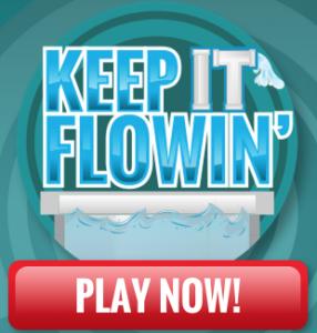 Liquid-Plumr Keep It Flowin' Instant Win Game