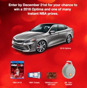 NBA.com HolidayGift Promotion