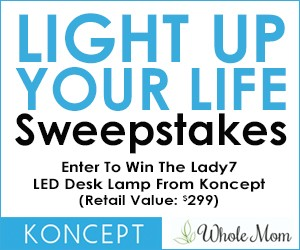 Light Up Your Life Sweepstakes Presented by WholeMoms
