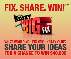 The Krazy Big Fix Sweepstakes