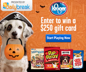 Daily Break and Kroger $250 Gift Card Giveaway