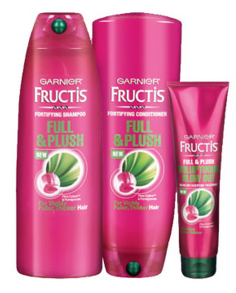 Free Sample Of Garnier Fructis Full & Plush Haircare