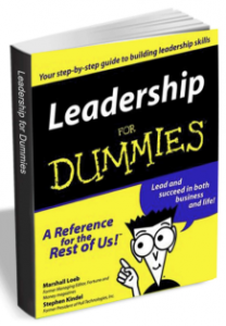 "Free eBook: ""Leadership for Dummies"" (Valued at $19.99)"