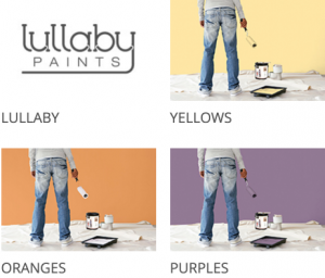 Free Color Sample Chips From Lullaby Paints