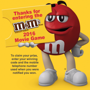 M&M'S Brand Movie Game
