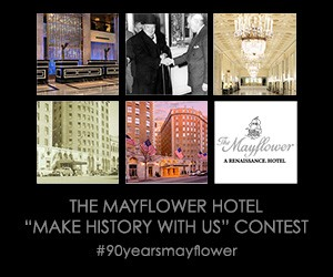 "The Mayflower Hotel ""Make History With Us"" Contest"