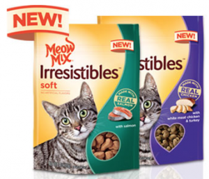 Free Meow Mix Irresistibles Treats For Uploading A Photo or Video