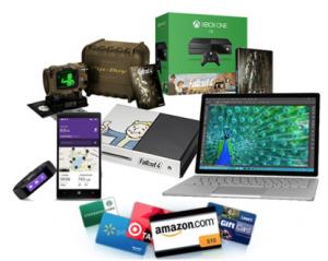 Bing Rewards Microsoft Sweepstakes