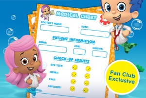 Free Printable Bubble Guppies Play Doctor Pack