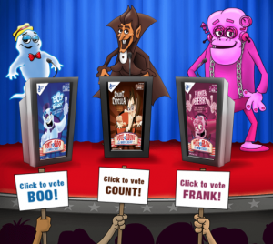 2016 Monsters Cereal Election Sweepstakes
