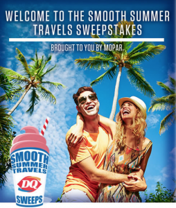 Mopar Smooth Summer Travels Sweepstakes