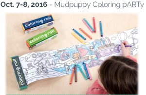 Tryazon - Mudpuppy Coloring Party