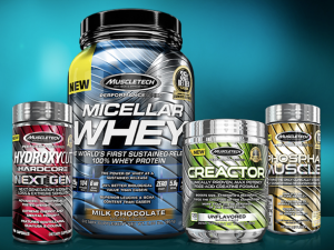 Free Sample Of MuscleTech Weight Lifting Supplements