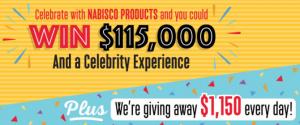 Nabisco 115 Moments Of Joy Sweepstakes