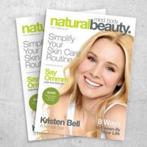 Free Natural Beauty Mini Magazine And Samples