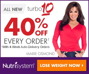 Nutrisystem - 40% OFF + Freebies + Free Shipping!
