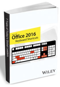 "Free Guide: ""Office 2016 Keyboard Shortcuts"""