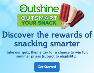 Outshine Your Snack Sweepstakes