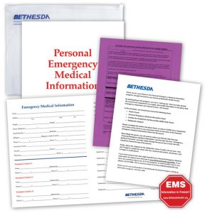 Free Emergency Medical Information Kit